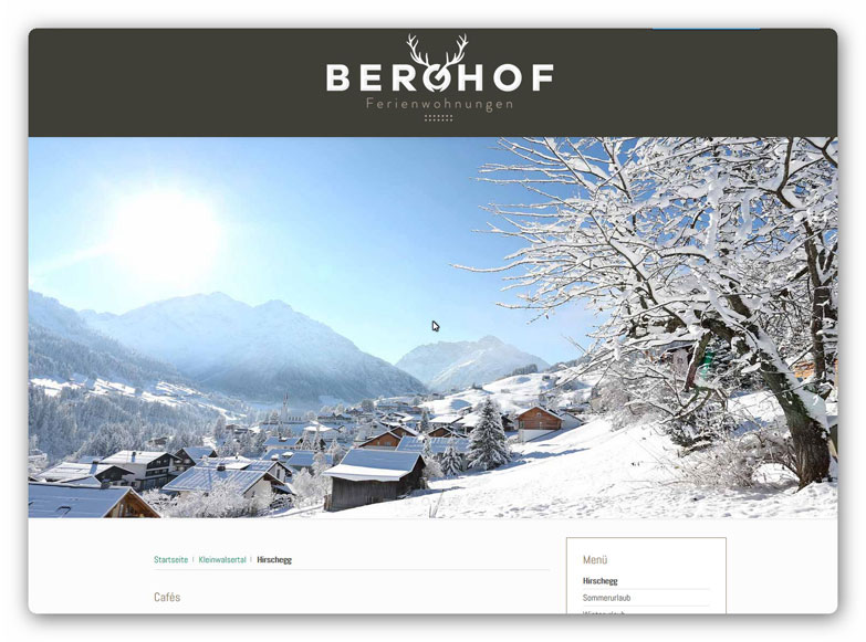 Der Berghof - Winter