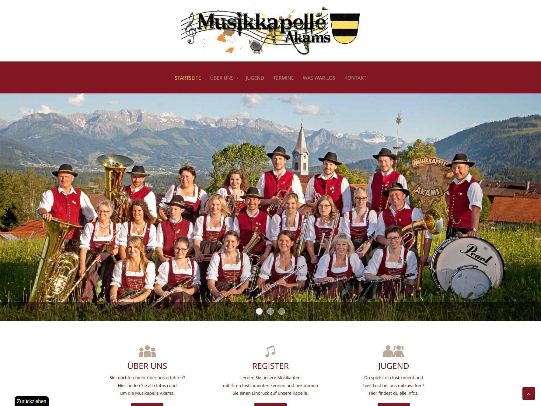 Musikkapelle Akams
