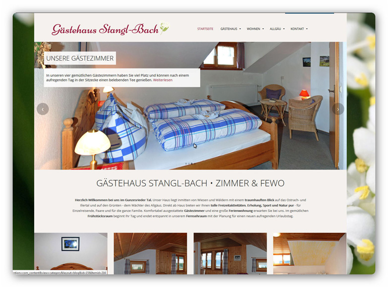 Pension Stangl-Bach