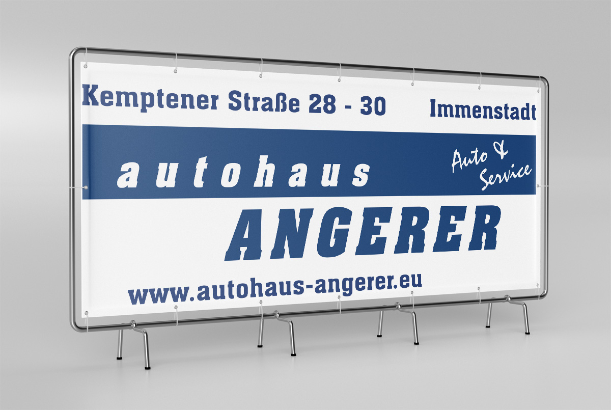 Autohaus Angerer | Banner